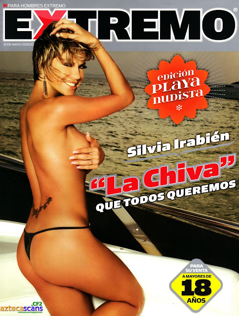 "Silvia Irabién ""La Chiva"" Revista H Extremo Mayo 2010"