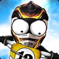 download stcikman downhill motorcross mod apk