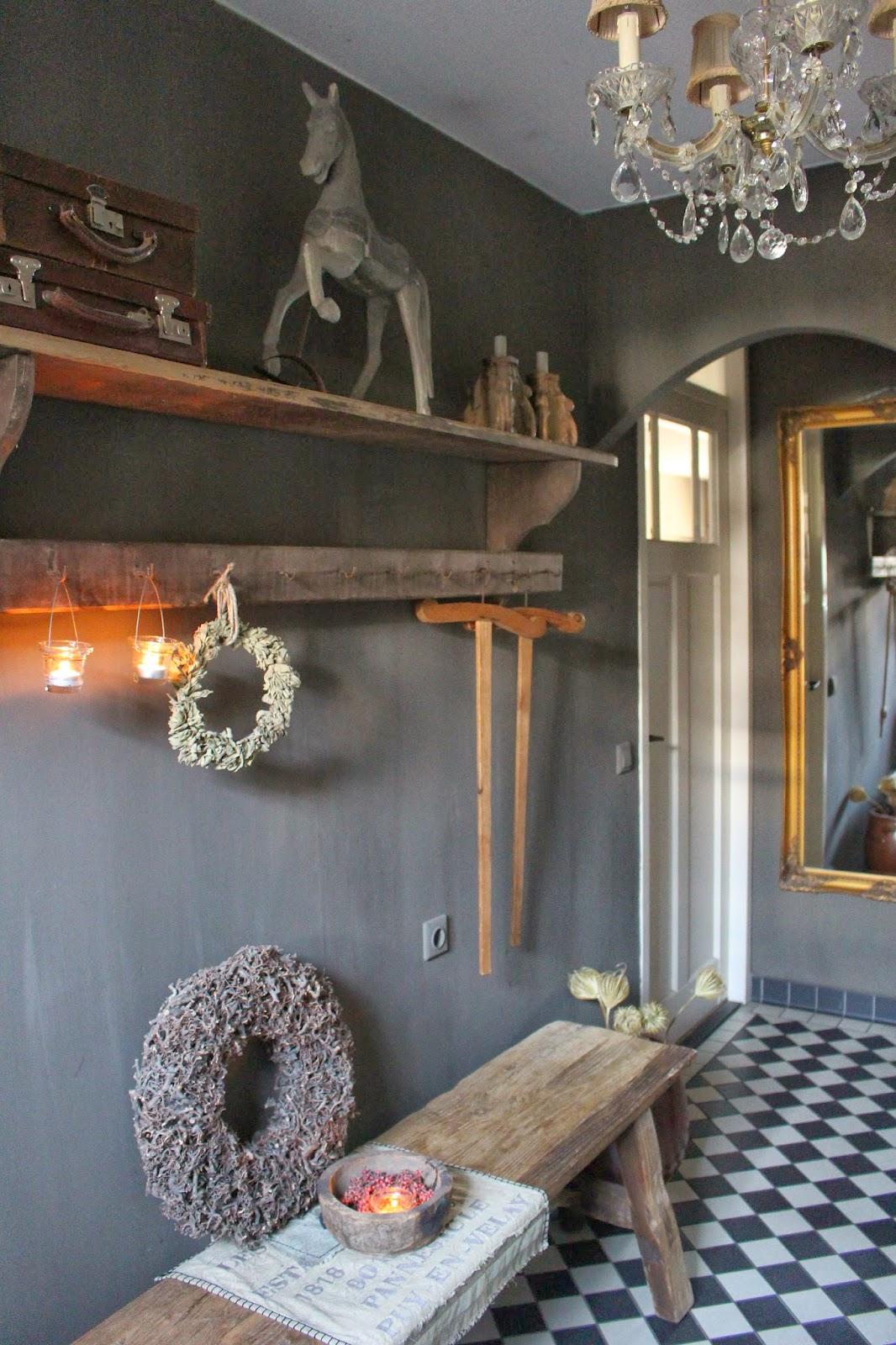 Het moonhuis even opfrissen - Decoratie gang ingang ...