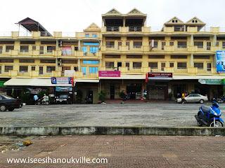 Sihanoukville hall buildings