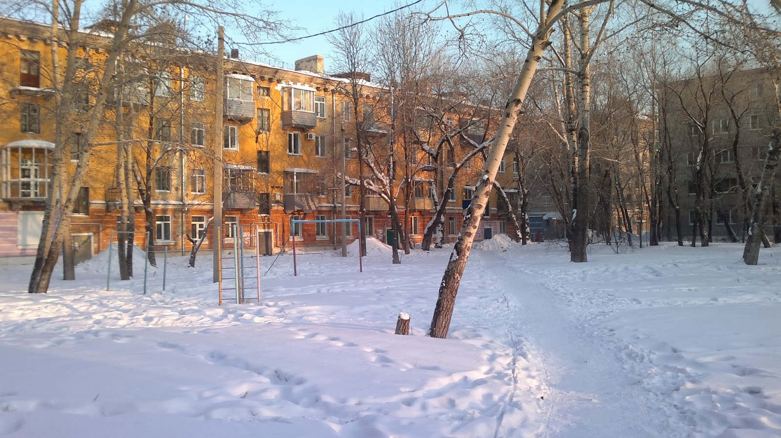 Эх, всю зиму бы такие морозы