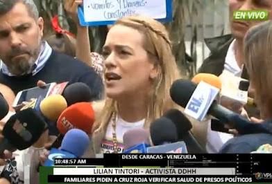 Lilian Tintori a Luisa Ortega Díaz: Usted fue quien acusó a Leopoldo sin pruebas ni testigos