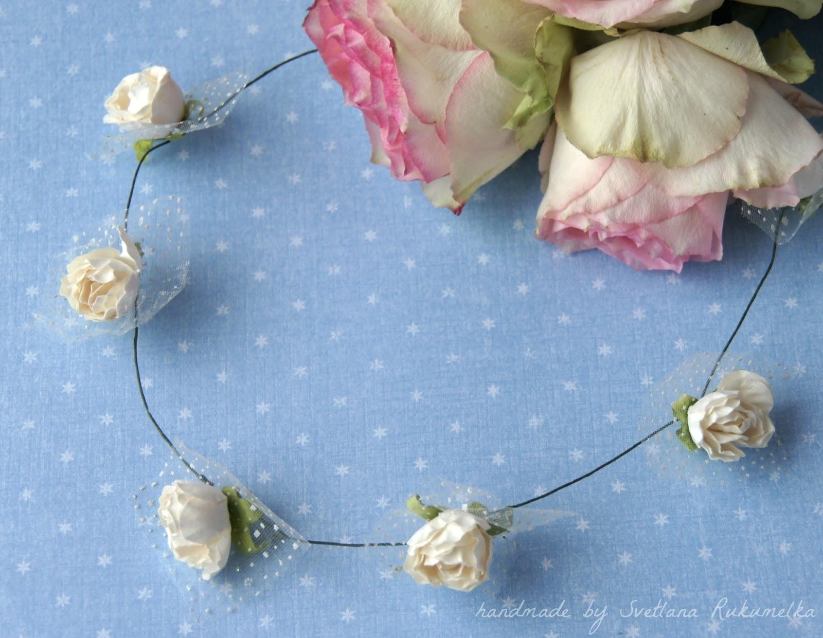 розы, цветы, венок