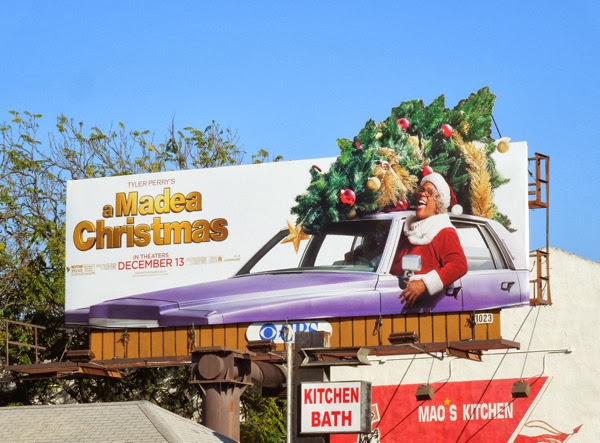 Tyler Perrys A Madea Christmas movie billboard