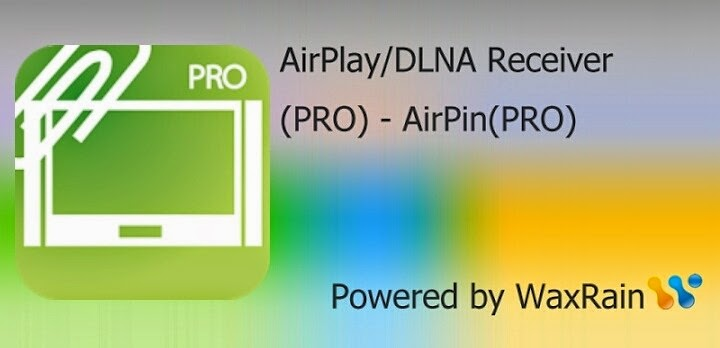 AirPlay/DLNA Receiver Pro v2.5.7 Apk