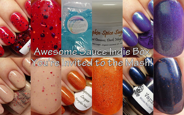 Awesome Sauce Indie Box You're Invited to the Mash!