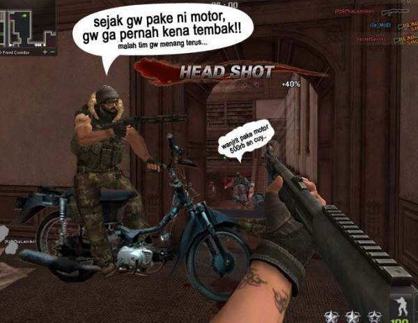 Gambar-gambar lucu game Point Blank