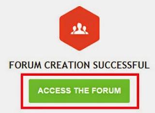 cara buat forum gratisan