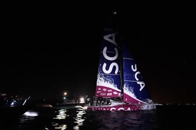 Volvo Ocean Race : Sam Davies et SCA vainqueurs à Lorient !
