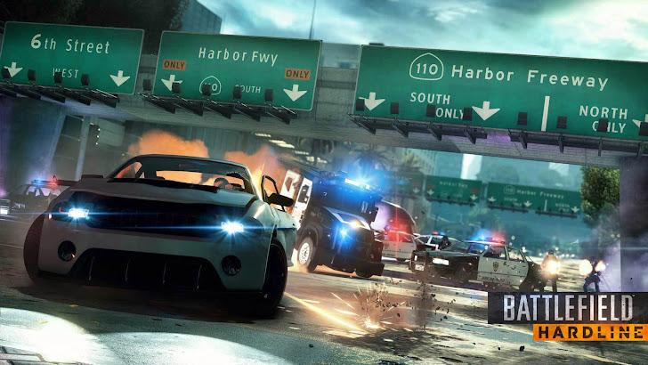 Battlefield Hardline Car Chase