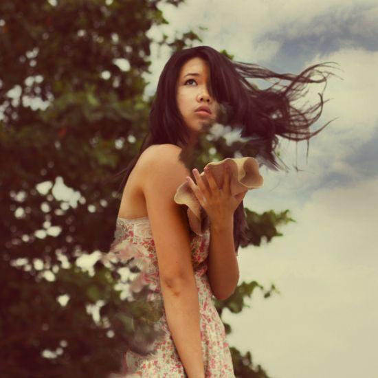 Kylie Woon fotografia photoshop surreal solidão melancolia Dissipando-se