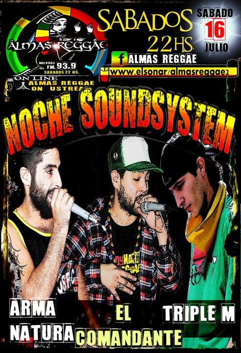 Noche Soundsystem - 16 de Julio