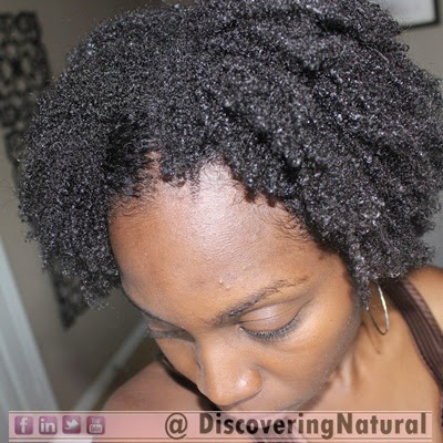 Wash and Go on 4C Natural Hair