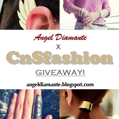 Angel was here's CnSfashion Accessories Giveaway