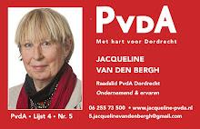 Actief, ondernemend en ervaren raadslid | PvdA | Lijst 4 | nr. 5