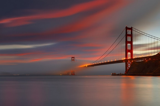 Golden Gate Bridge in San Francisco, US