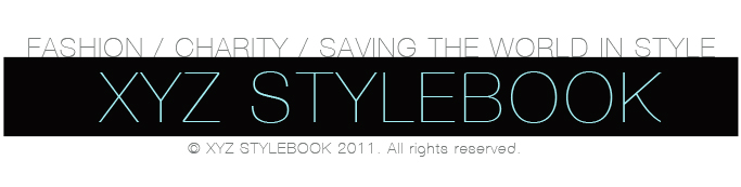 XYZ STYLEBOOK // Merging Fashion and Charity