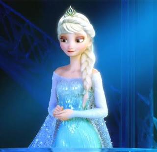 Gambar Elsa Frozen sedih