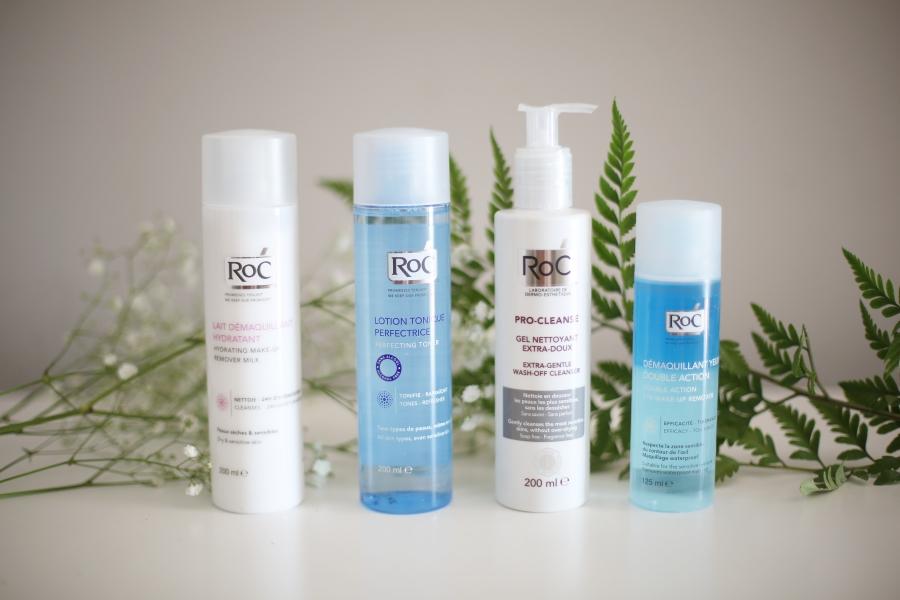 Productos de limpieza facial de Dove