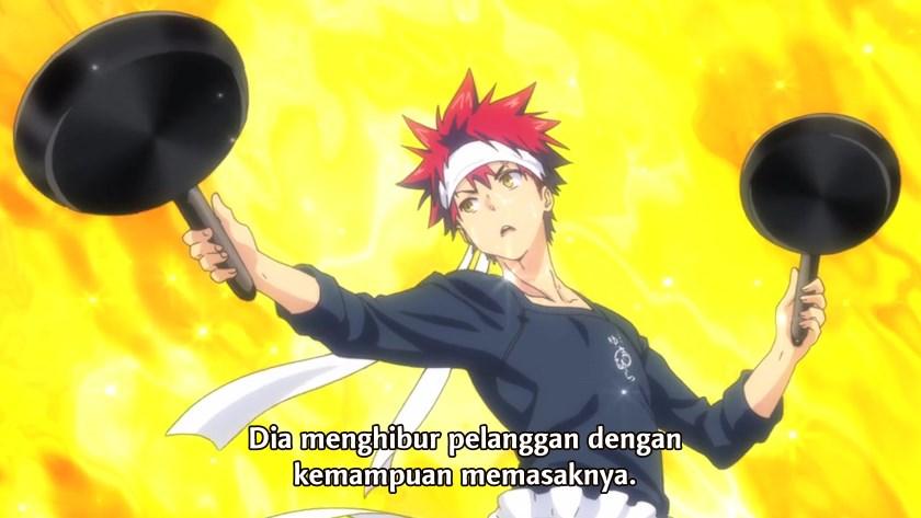 Shokugeki no Souma Episode 14 Subtitle Indonesia