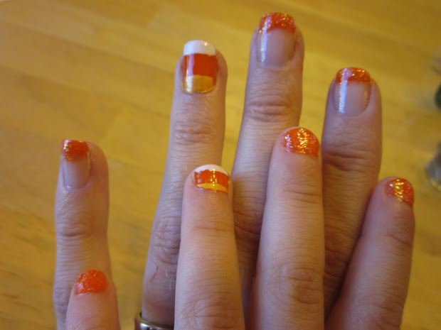 awesome nail design halloween