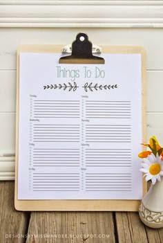 faça uma lista de tarefas