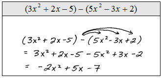OpenAlgebra.com: Adding and Subtracting Polynomials