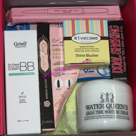 Memebox Gangnam Style beauty box review, unboxing