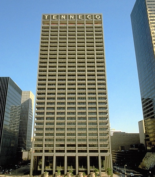 Tenneco (formerly El Paso Energy, now Kinder Morgan) Building downtown ...