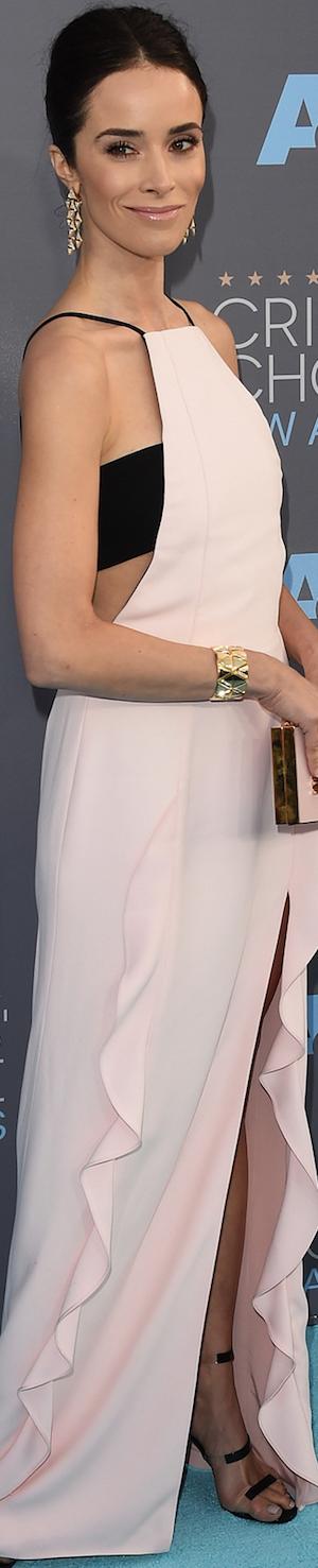 Abigail Spencer in J. Mendel 2016 Critics' Choice Awards
