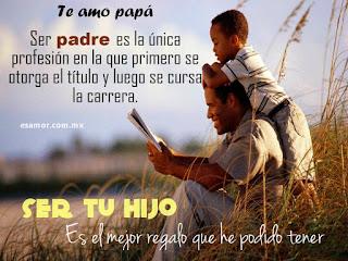 Poemas, versos en imágenes para dedicar el día del padre