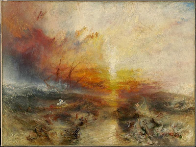 The Slave Ship by JMW Turner, 1840
