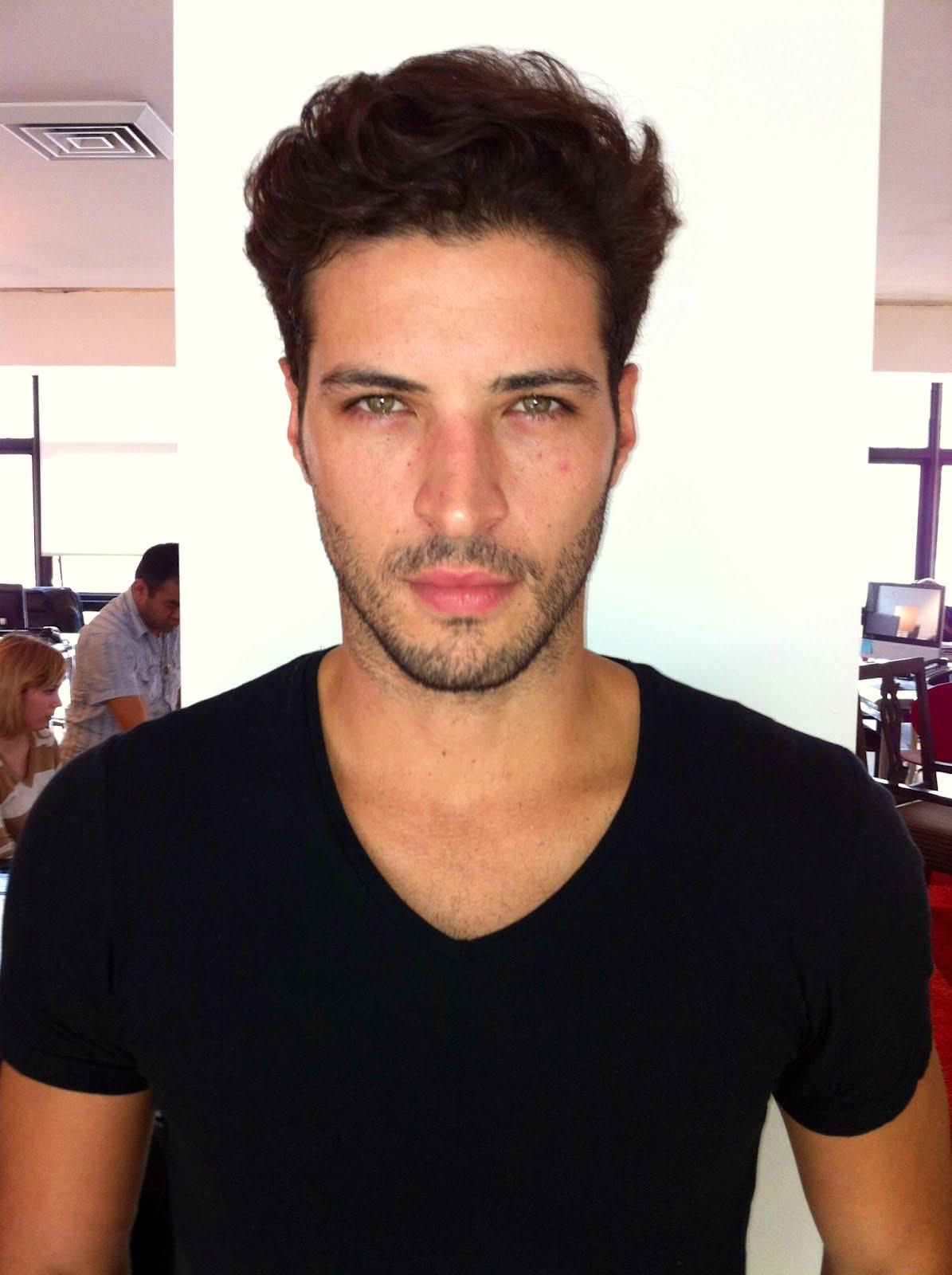 Polaroids Leandro Lima Brazil Male Models