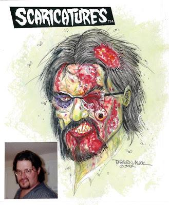 Darren Auck Scaricatures 2