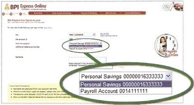 BPIExpressOnline pay bills window 2