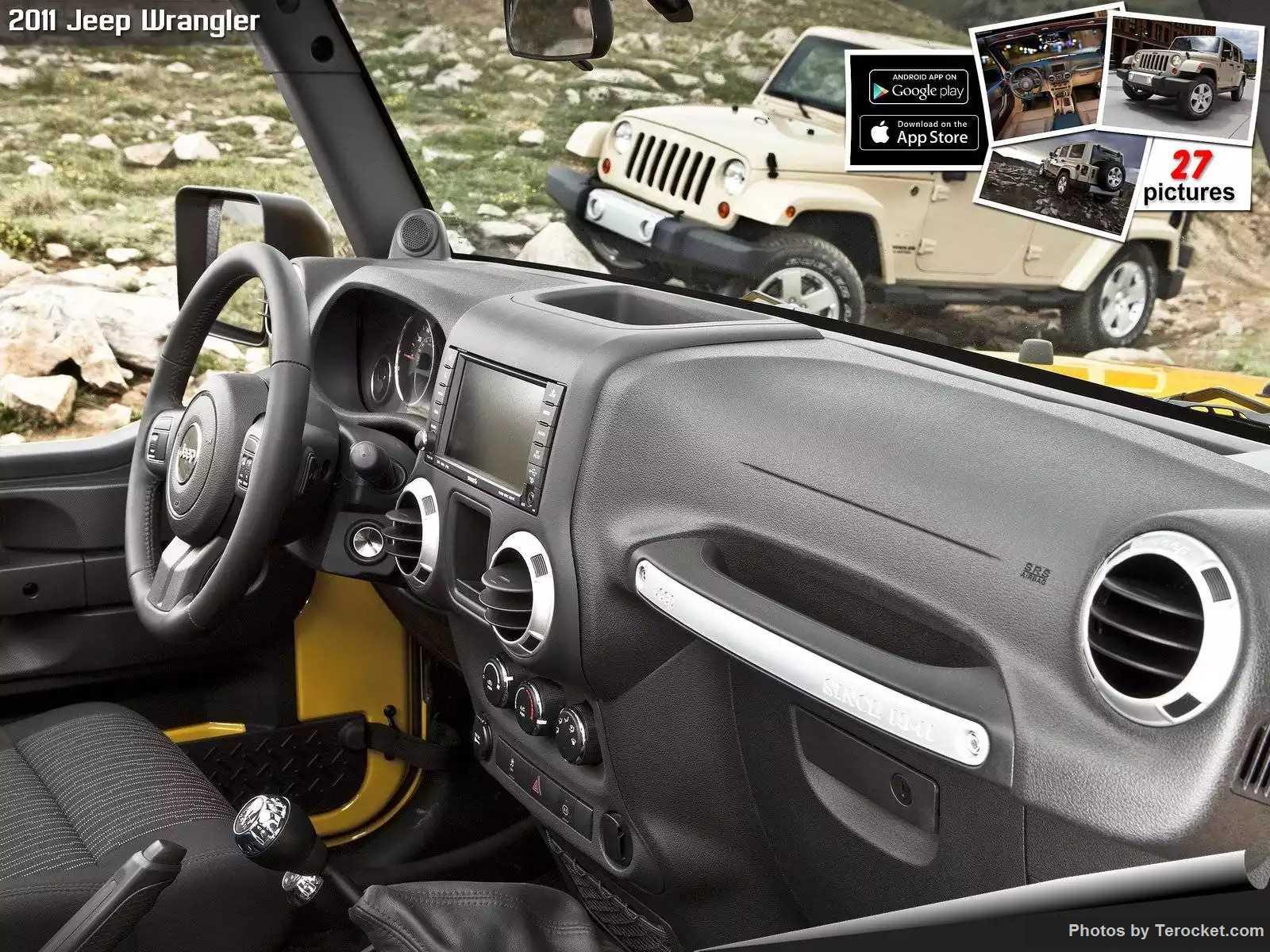 Hình ảnh xe ô tô Jeep Wrangler 2011 & nội ngoại thất