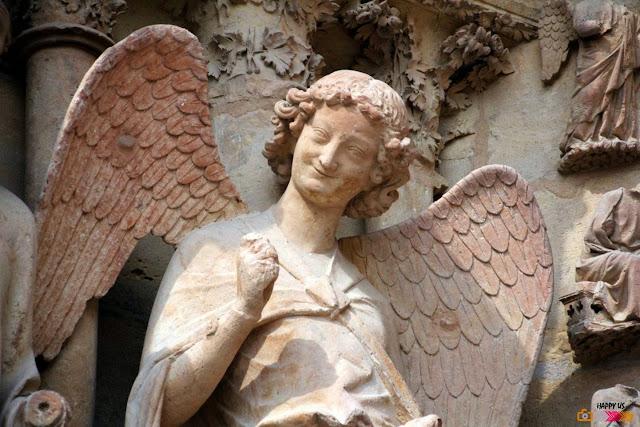 Cathédrale de Reims - L'Ange au Sourire