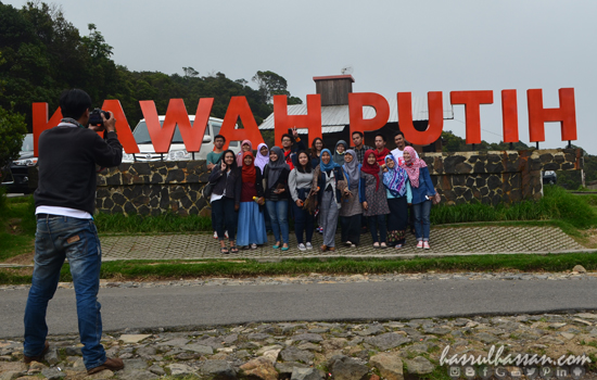 Kawah Putih, Ciwidey, Bandung, Jawa Barat Indonesia