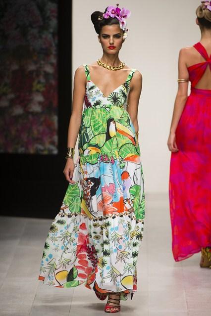 Bon Marche London Fashion Show