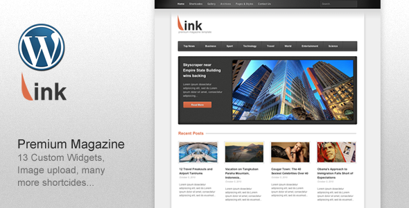 Link - Clean Magazine WordPress Theme Free Download by ThemeForest.