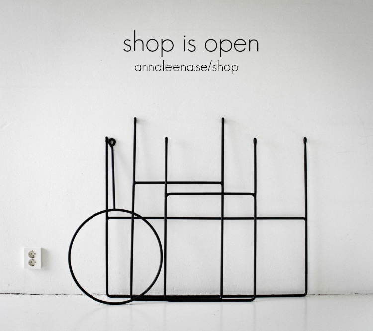 annaleena design, clothing rails