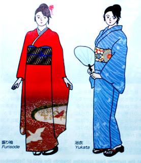 kimono bayan Meiji Resterasyonu