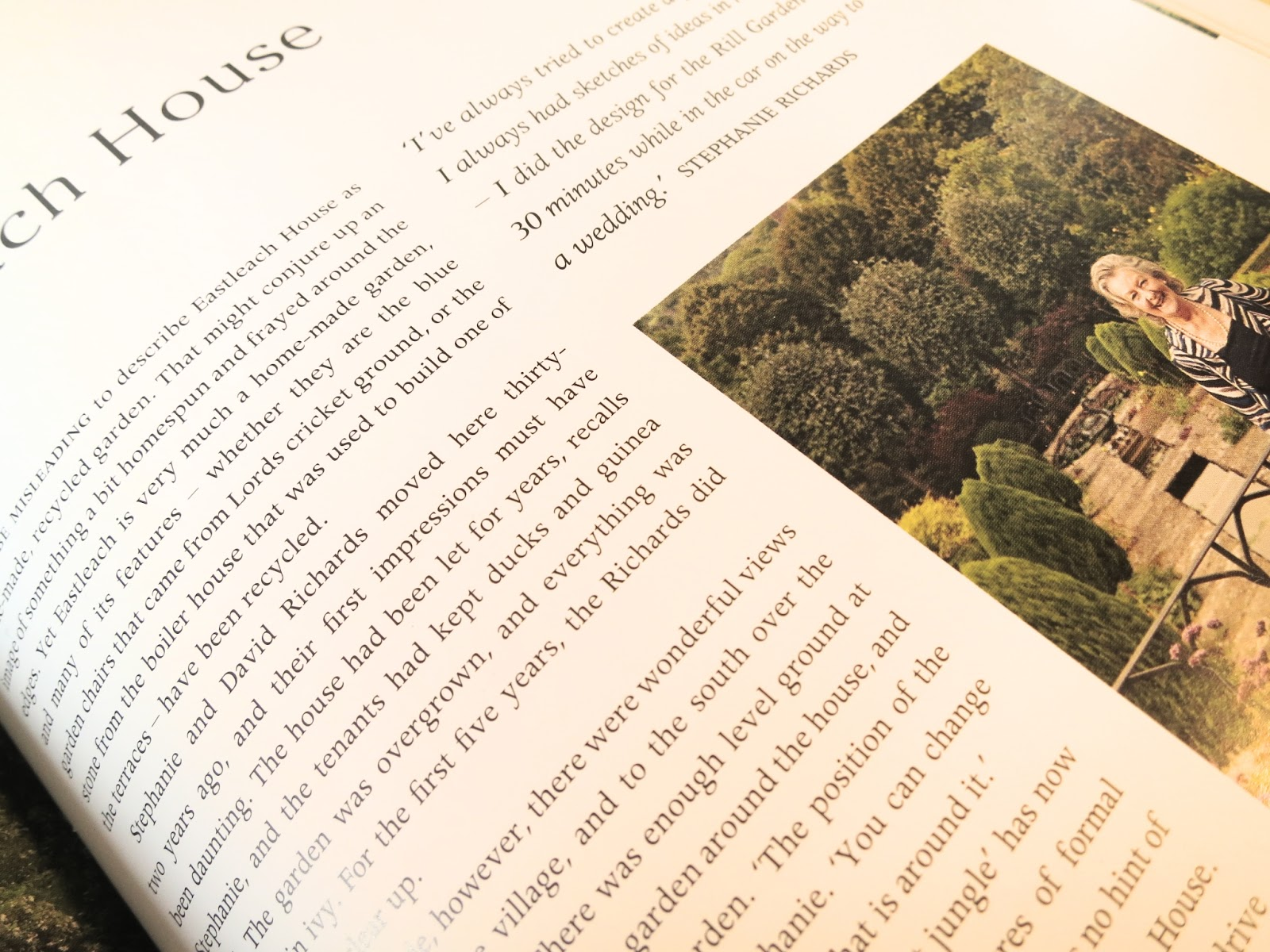 Loose and Leafy photo of p.79 of Secret Gardens of the Cotswolds - with Stephanie Richards