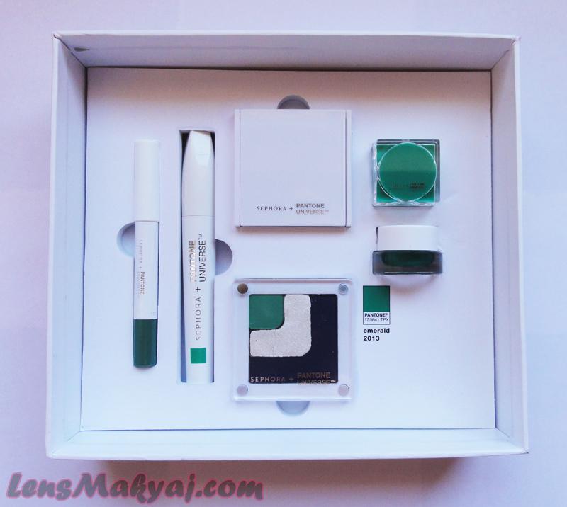 Sephora Pantone 2013 Emerald Set