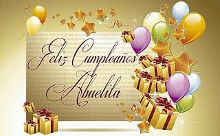 Tarjetas de Cumpleaños para Abuelas, parte 1