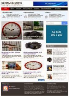 halaman depan cb online store