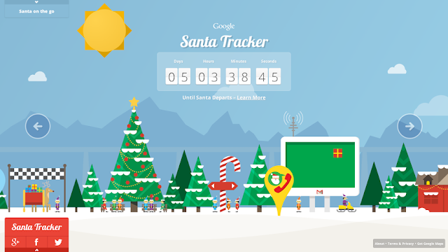 Google Maps Santa Tracker | Google Maps | google.com