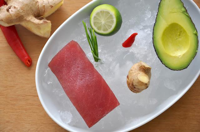 Fashion Gourmet: Tuna & avocado tartare