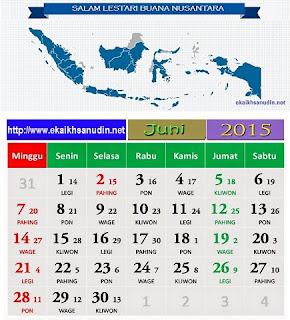 SELAMAT DATANG BULAN JUNI 2015