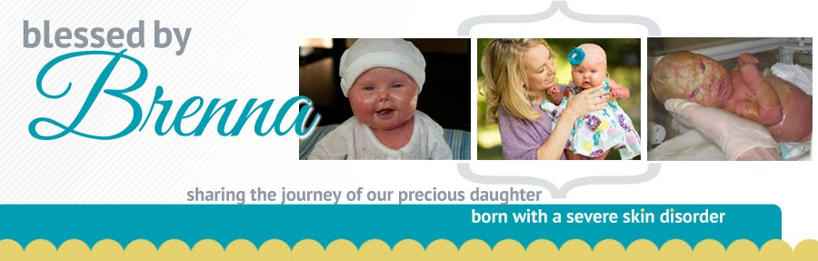 Blessed by Brenna | A Harlequin Ichthyosis diagnosis